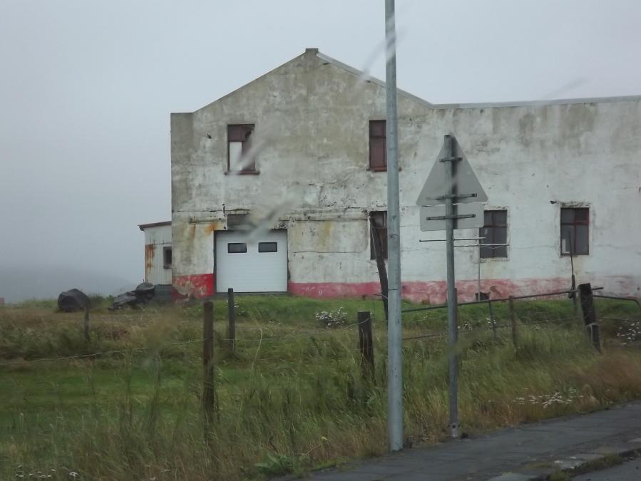 Kombination aus Alt und Neu in Grindavík
