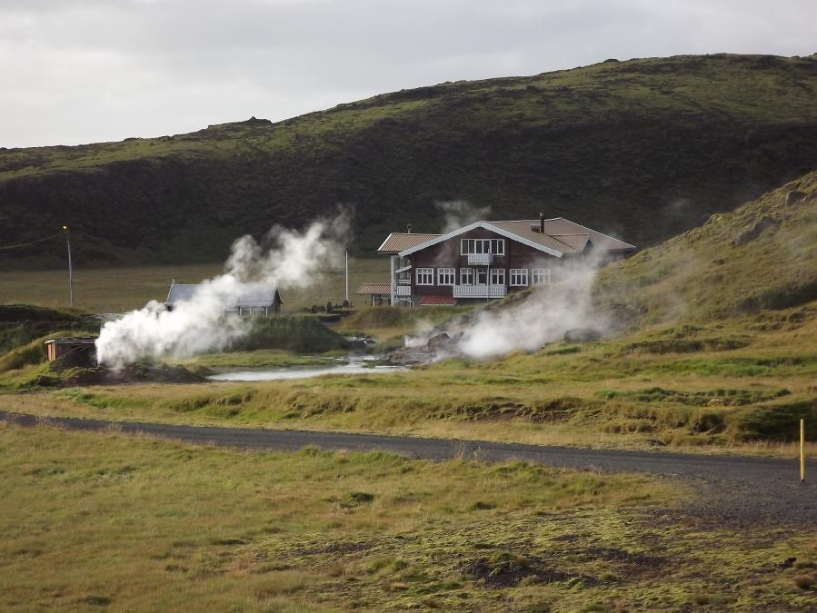 Heiße Quellen in Hveragerði